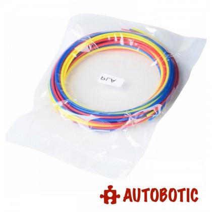 1.75mm 3D Pen PLA Filament for 3D Printing Pen (3 Colour 9 meter)