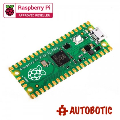 Raspberry Pi Pico Basic Bundle [READY STOCK]