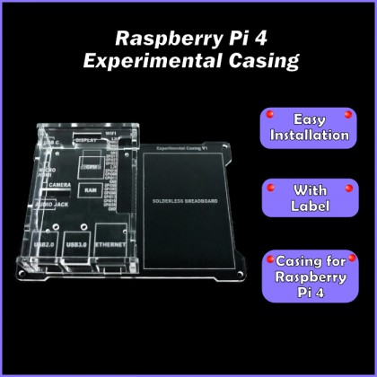 Raspberry Pi 4 Acrylic Experimental Casing