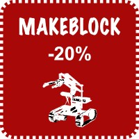 MAKEBLOCK PRODUCTS 20% OFF