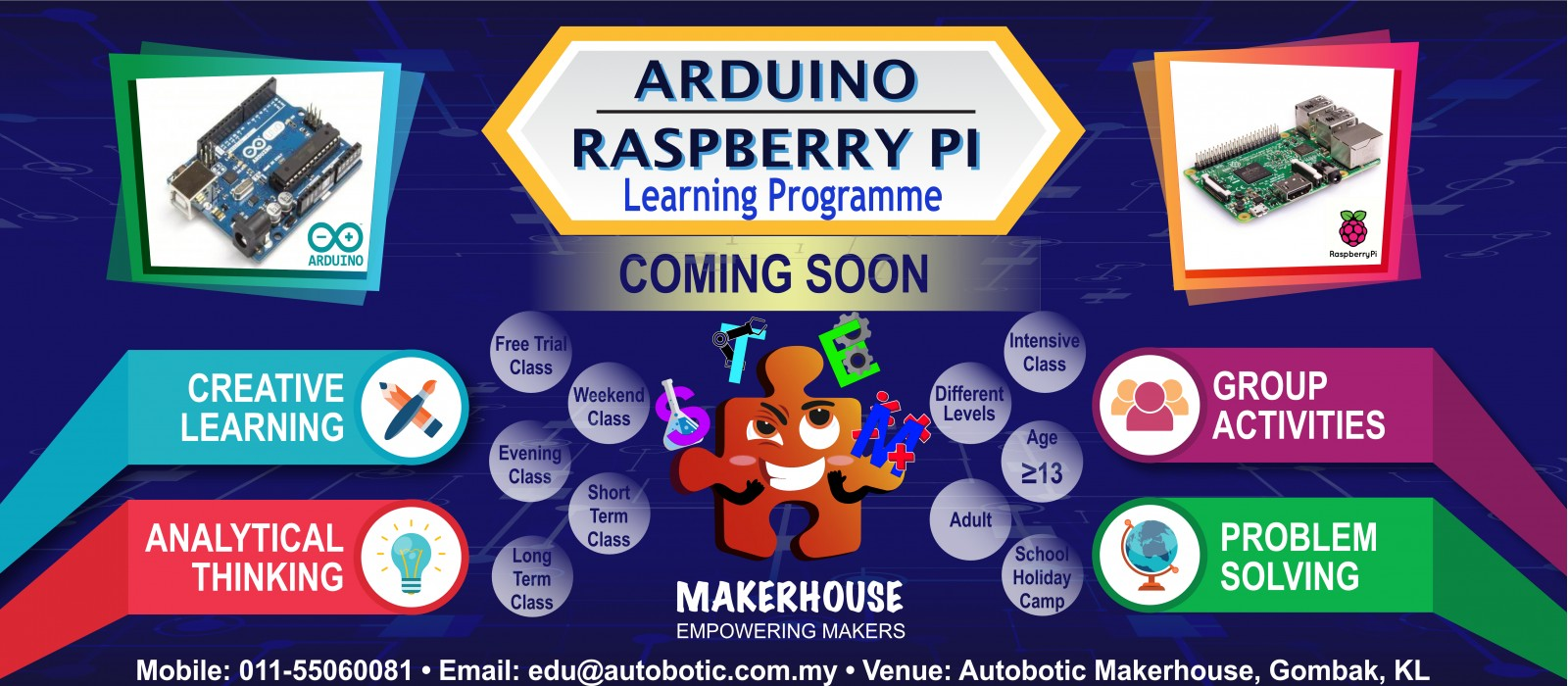 Arduino & Raspberry Pi Program