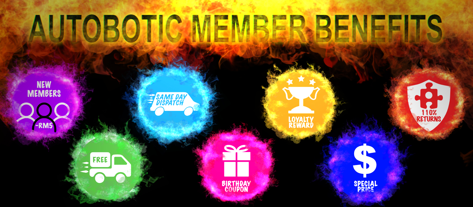Autobotic Member Benefits