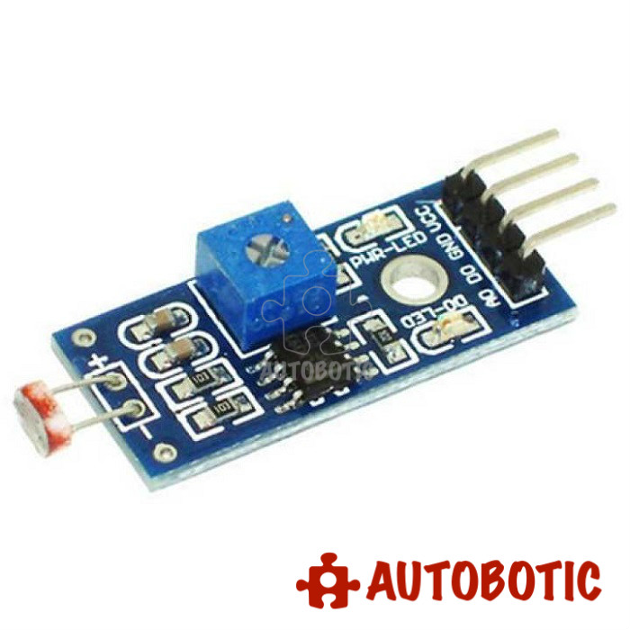 LDR Light Sensor Module for Arduino