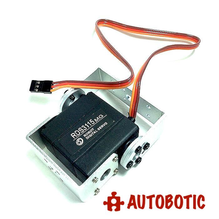 13 5kg cm Robot Standard Servo RDS3115 Metal Gear Digital Servo -270 degree