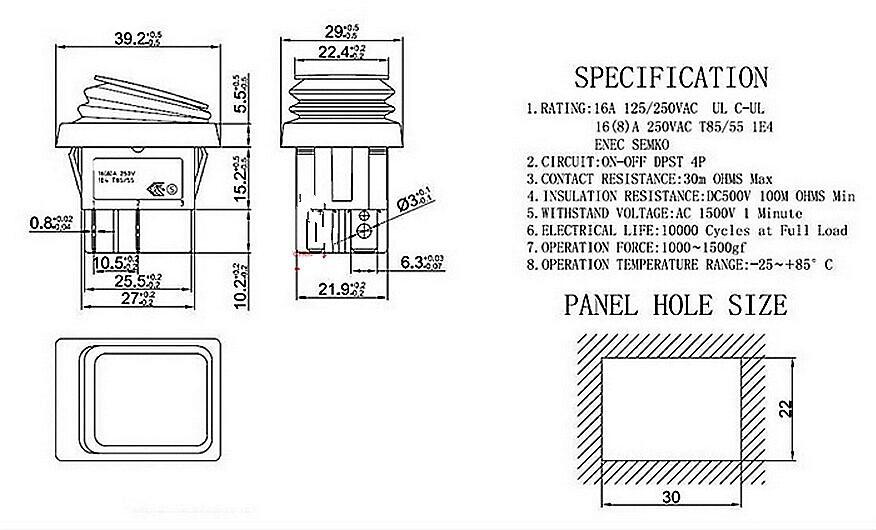 Kcd Rocker Switch Wiring Diagram on