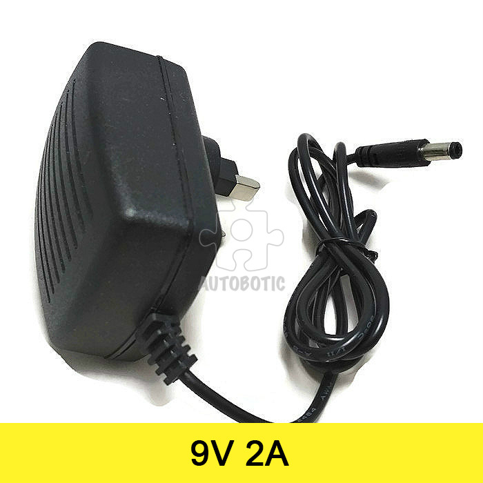AC to DC Power Adapter 9V 2A (UK Plug) Arduino