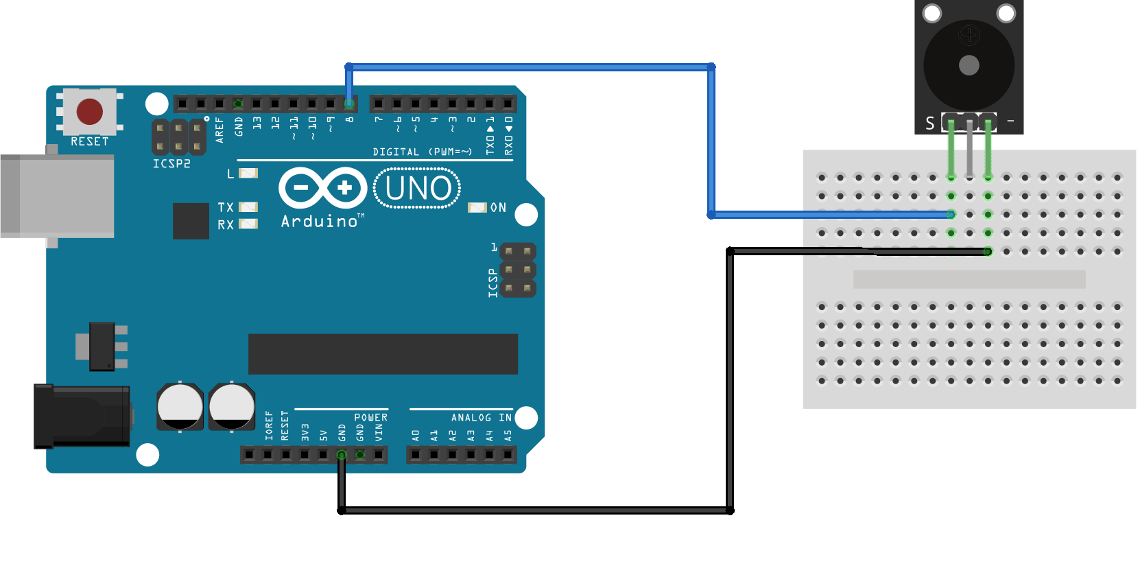 1005# Passive Buzzer Module for Arduino New ky-006