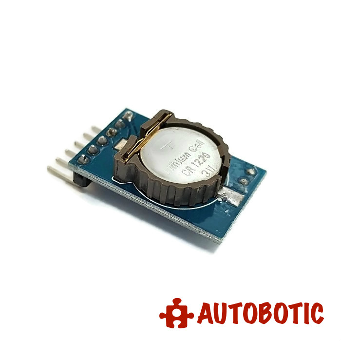 DS1302 real time clock module with battery CR1220