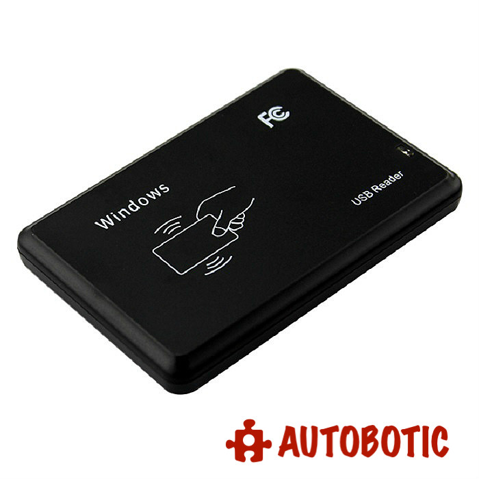 USB RFID Smart ID Card Reader EM4001 EM4100 (125Khz)