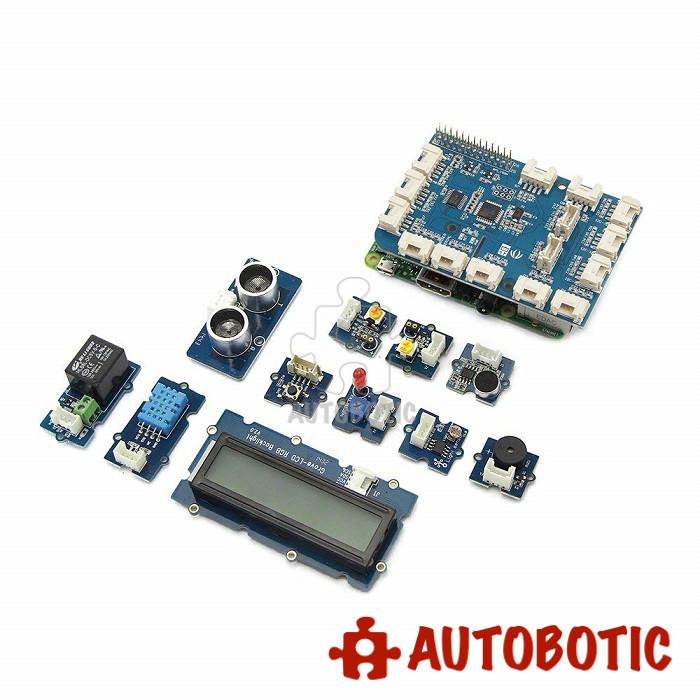 GrovePi+ Starter Kit for Raspberry Pi