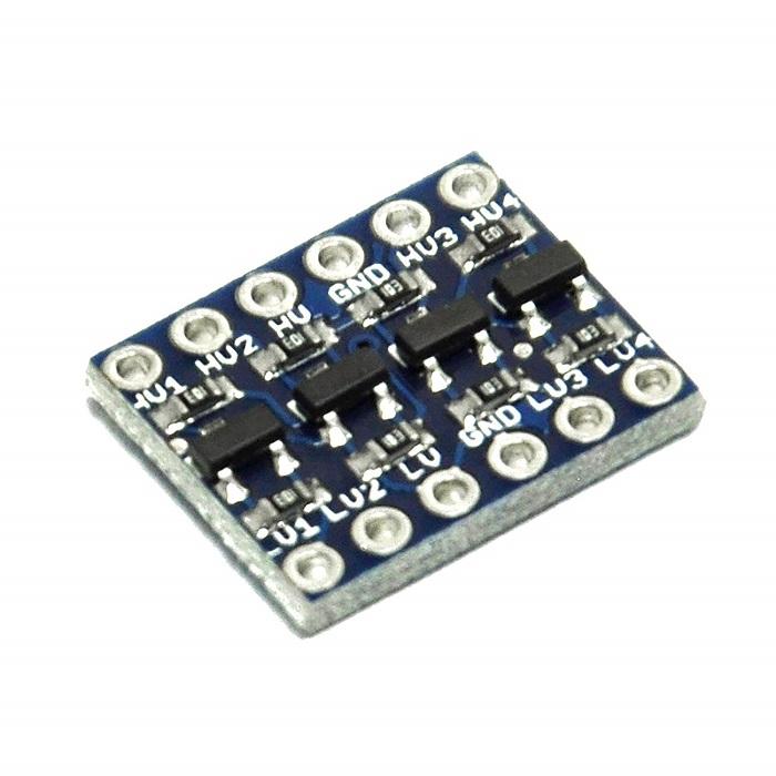 4 Channel IIC I2C UART SPI Logic Level Converter Bi-Directional 3 3V-5V  Shifter Module