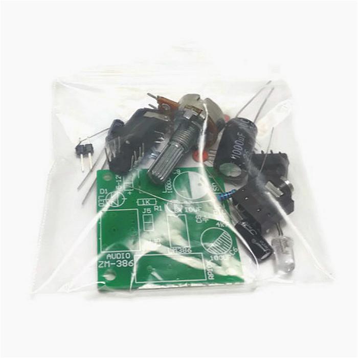 LM386 Super Mini Amplifier Module DIY Kit (DC3V-12V)