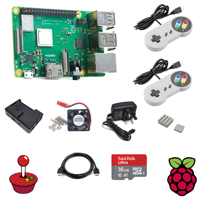 Retropie Game Bundle with Raspberry Pi